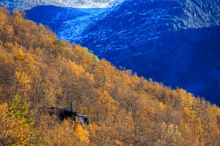 Kvaloya island autumn and winter images, Troms, Tromso, Norway