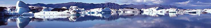 JOKULSARLON ICEBERG LAGOON - iceland stock photos summer 2004