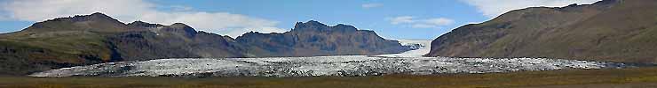 SKAFTAFELL GLACIER - iceland stock photos summer 2004